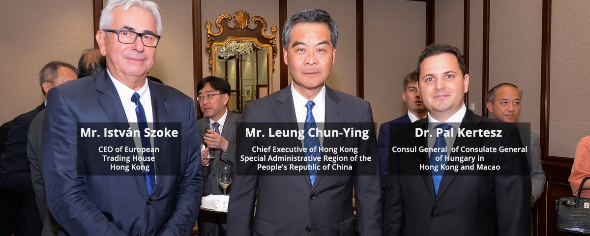 European Trading House Hong Kong participated in a very special occasion