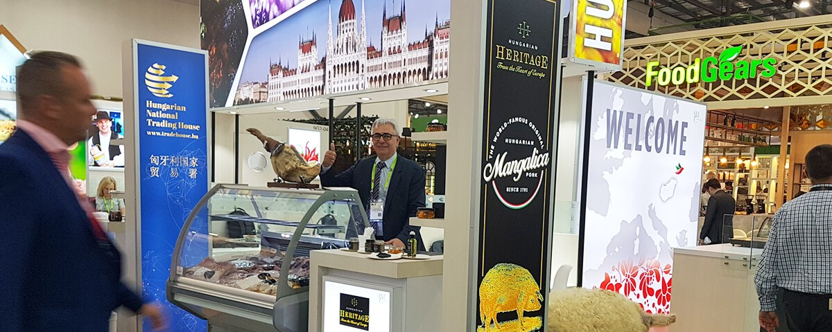 The world-famous Mangalitsa pork and the exclusive Hungarian Heritage products were presented at FHA2018